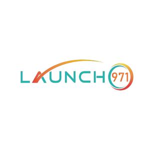 Launch 971 - Logo (White)